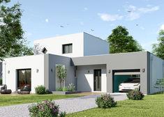 maison personnalisable hexa style r1 toit plat gi maisons hexagone bd 1