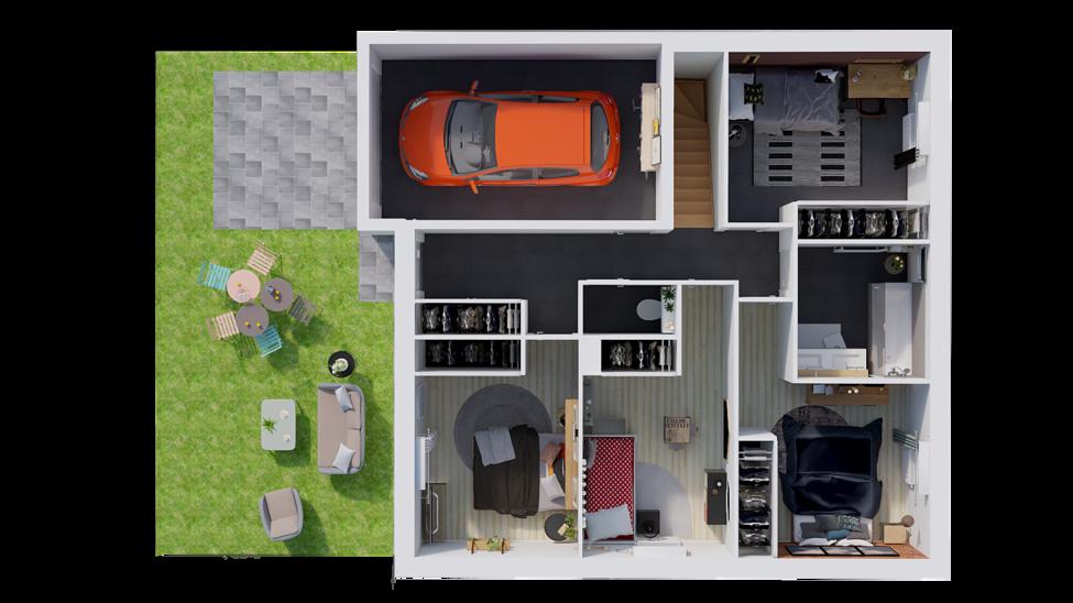 maison personnalisable pdv hexa adapt gi rdc