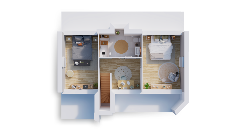 maison personnalisable pdv hexa combles gi etage