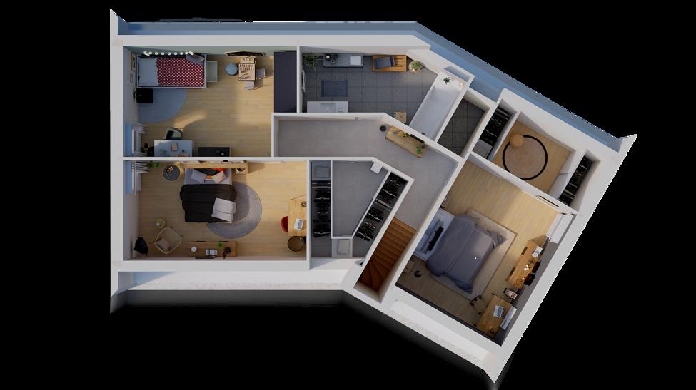 maison personnalisable pdv hexa combles v gi etage