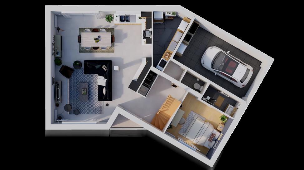 maison personnalisable pdv hexa combles v gi rdc