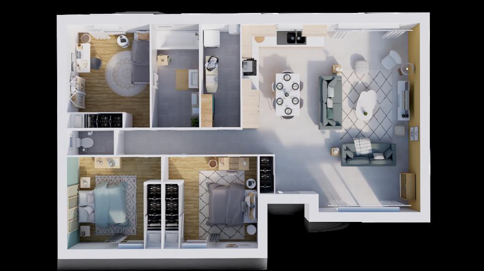 maison personnalisable pdv hexa plain pied l