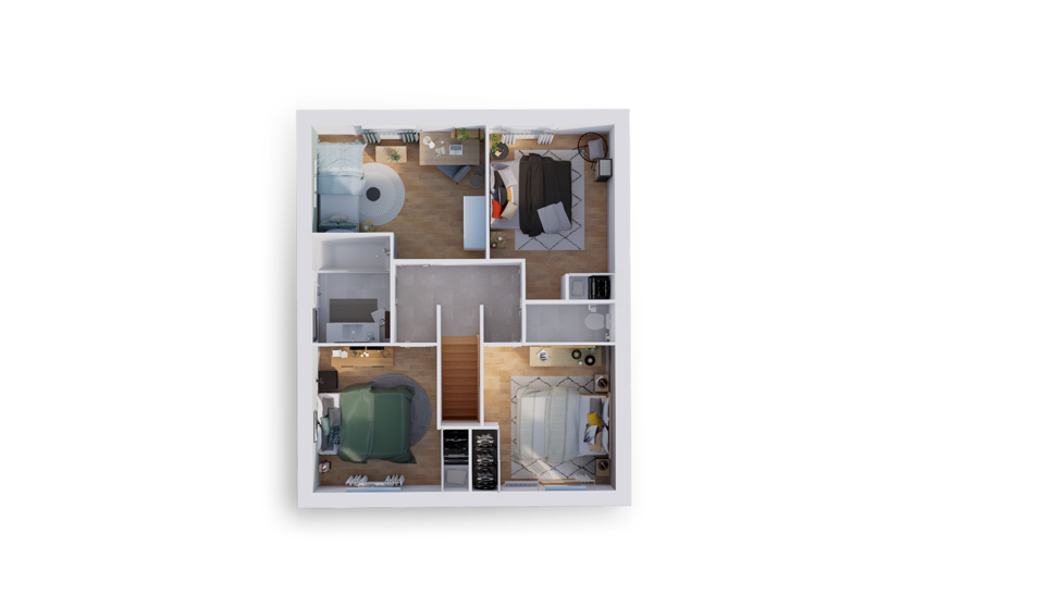 maison personnalisable pdv hexa r1 city gi etage