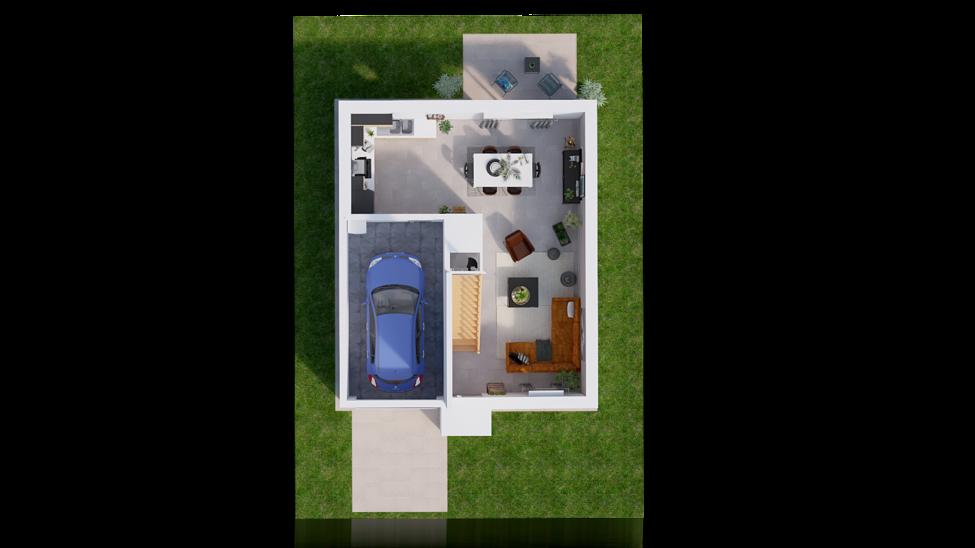 maison personnalisable pdv hexa r1 city gi rdc 1