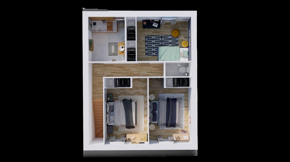 maison personnalisable pdv hexa r1 etage
