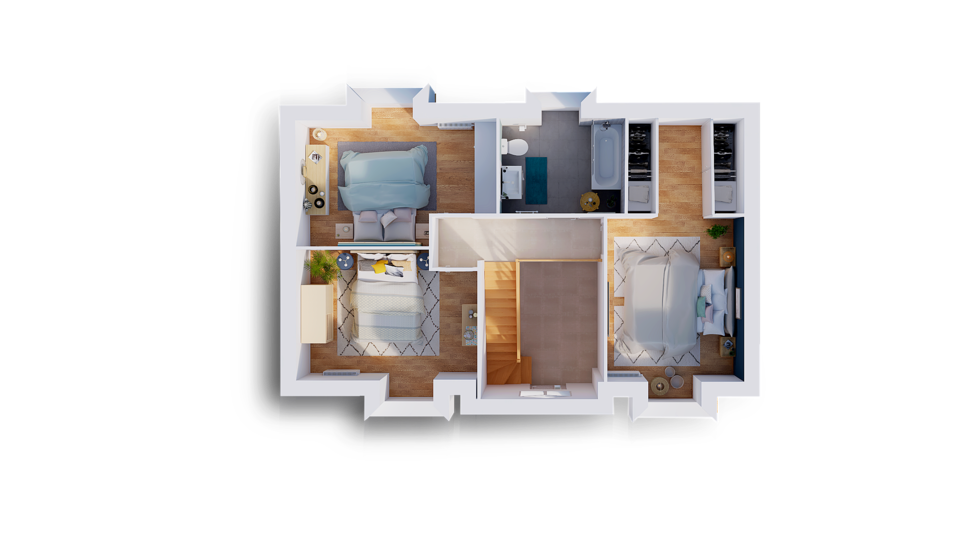 maison personnalisable pdv hexa style combles gi etage