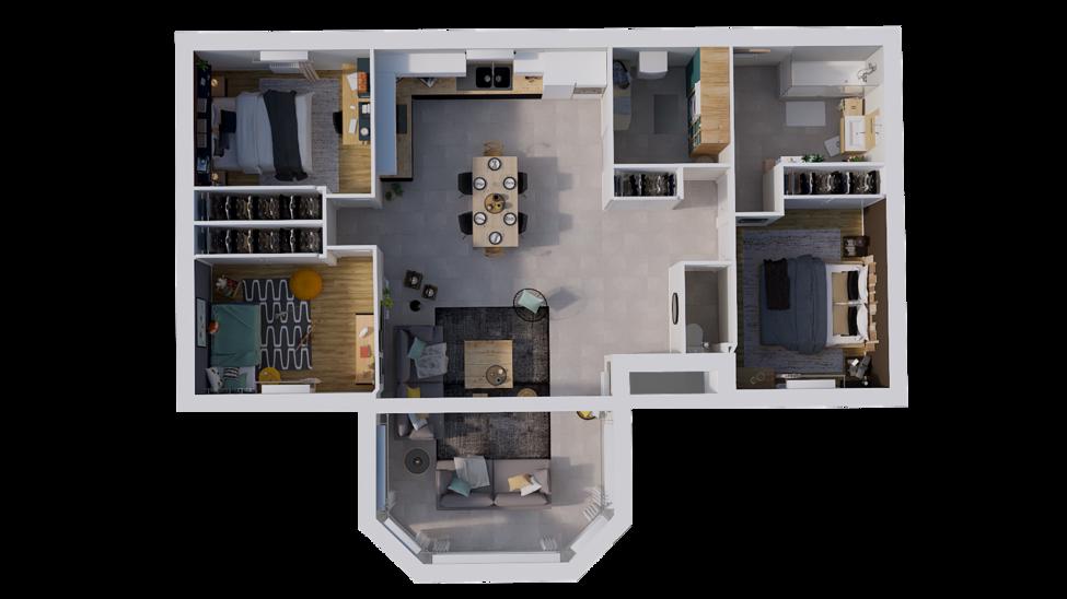 maison personnalisable pdv hexa style plain pied t rdc