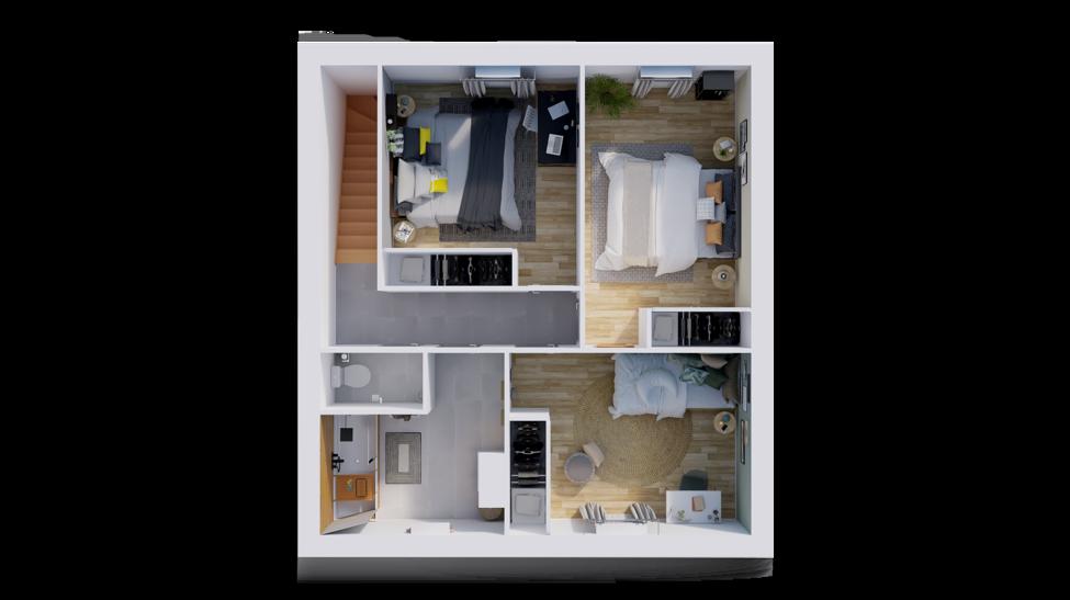 maison personnalisable pdv hexa style r1 blocs ga etage