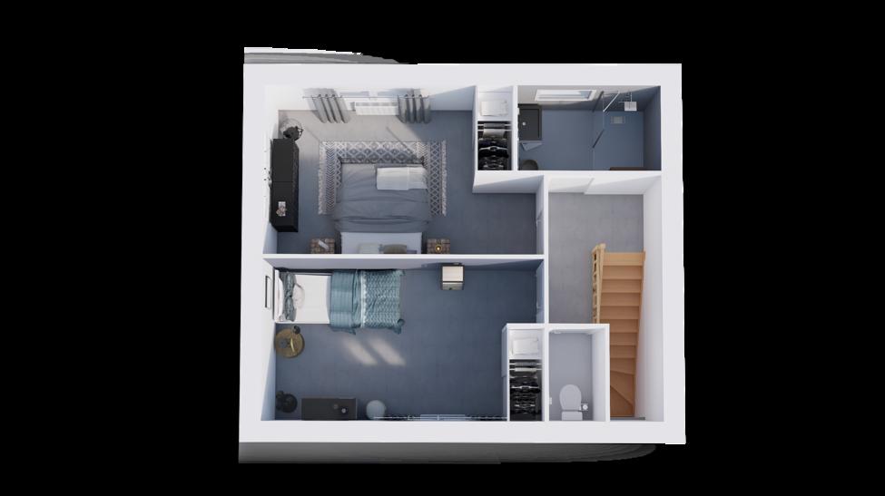maison personnalisable pdv hexa style r1 toit plat gi etage