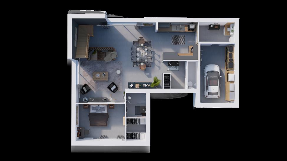 maison personnalisable pdv hexa style r1 toit plat gi rdc